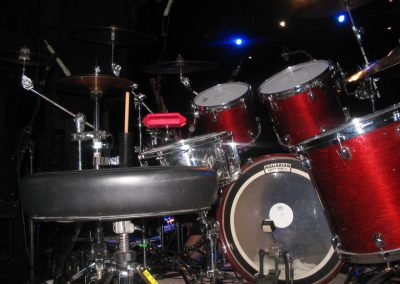 Set-up for Peter Murphy Unshattered tour 2005